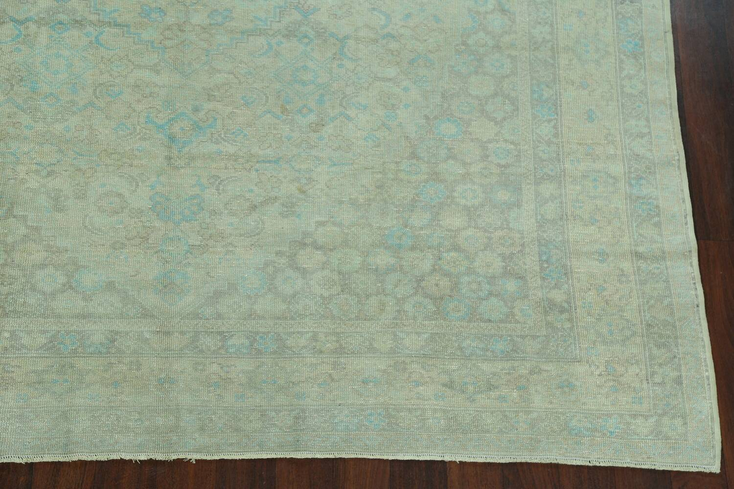 Antique 100% Vegetable Dye Sultanabad Persian Area Rug 8x9 image 5
