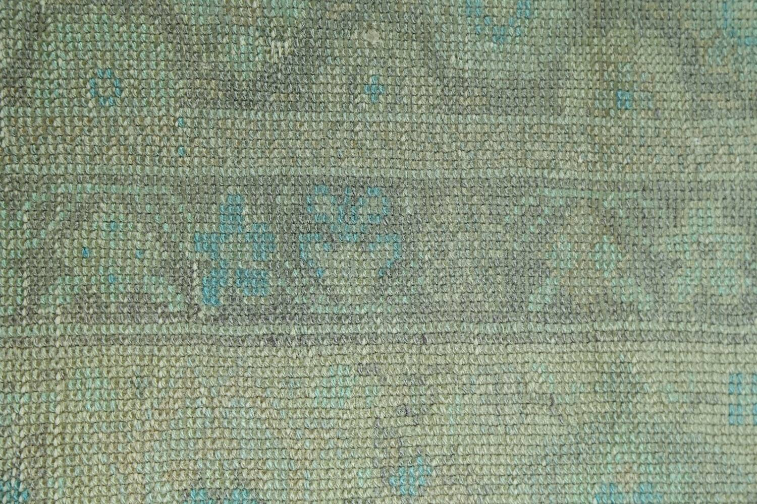 Antique 100% Vegetable Dye Sultanabad Persian Area Rug 8x9 image 9
