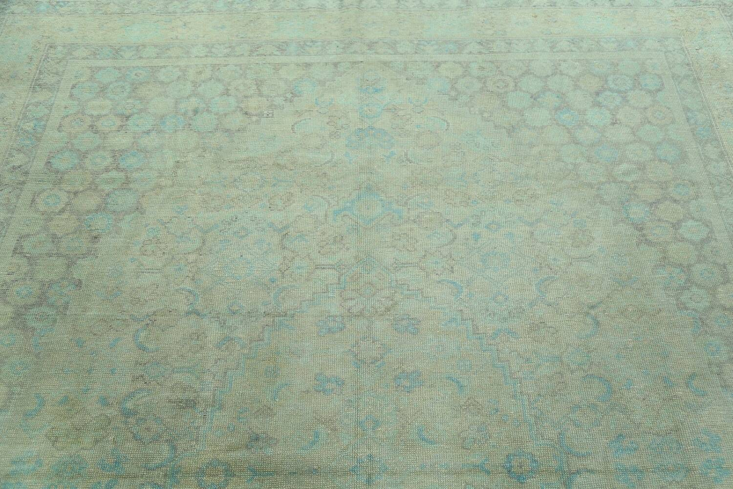Antique 100% Vegetable Dye Sultanabad Persian Area Rug 8x9 image 14