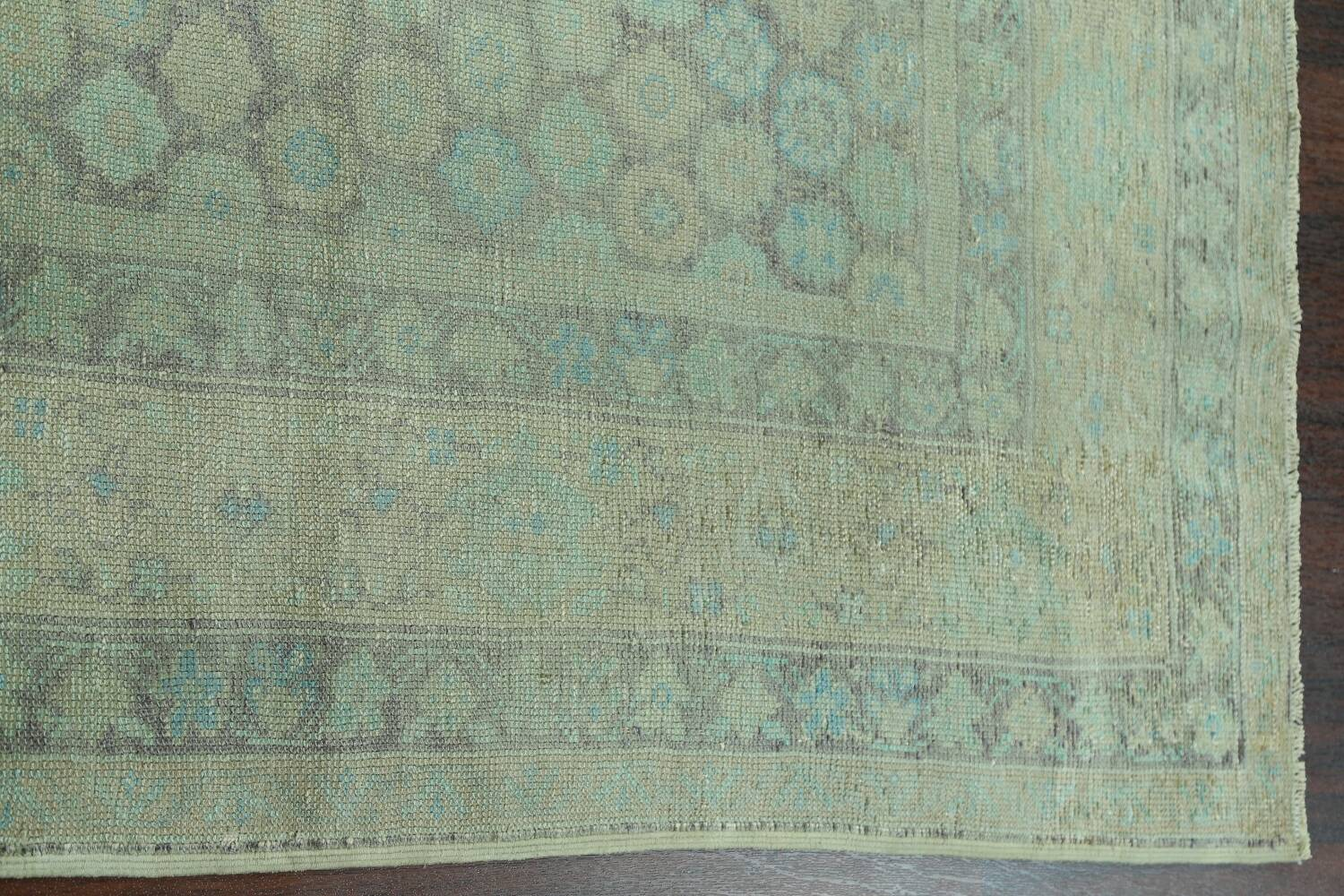 Antique 100% Vegetable Dye Sultanabad Persian Area Rug 8x9 image 15