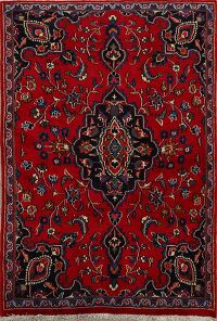 Floral Red Kashmar Persian Area Rug 3x5