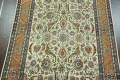 Antique All-Over Floral Tabriz Persian Area Rug 7x11 image 3