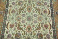 Antique All-Over Floral Tabriz Persian Area Rug 7x11 image 4