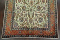 Antique All-Over Floral Tabriz Persian Area Rug 7x11 image 8