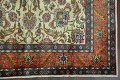 Antique All-Over Floral Tabriz Persian Area Rug 7x11 image 5