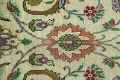 Antique All-Over Floral Tabriz Persian Area Rug 7x11 image 10