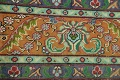 Antique All-Over Floral Tabriz Persian Area Rug 7x11 image 11