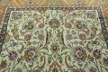 Antique All-Over Floral Tabriz Persian Area Rug 7x11 image 12
