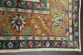 Antique All-Over Floral Tabriz Persian Area Rug 7x11 image 13