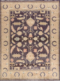 All-Over Floral Sultanabad Persian Area Rug 8x11