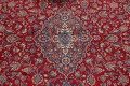 Vintage Floral Red Mashad Persian Area Rug 10x12 image 4