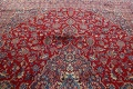 Vintage Floral Red Mashad Persian Area Rug 10x12 image 15