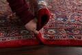 Vintage Floral Red Mashad Persian Area Rug 10x12 image 21