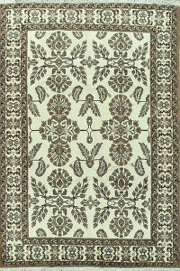 All-Over Floral Ferdos Persian Area Rug 7x10