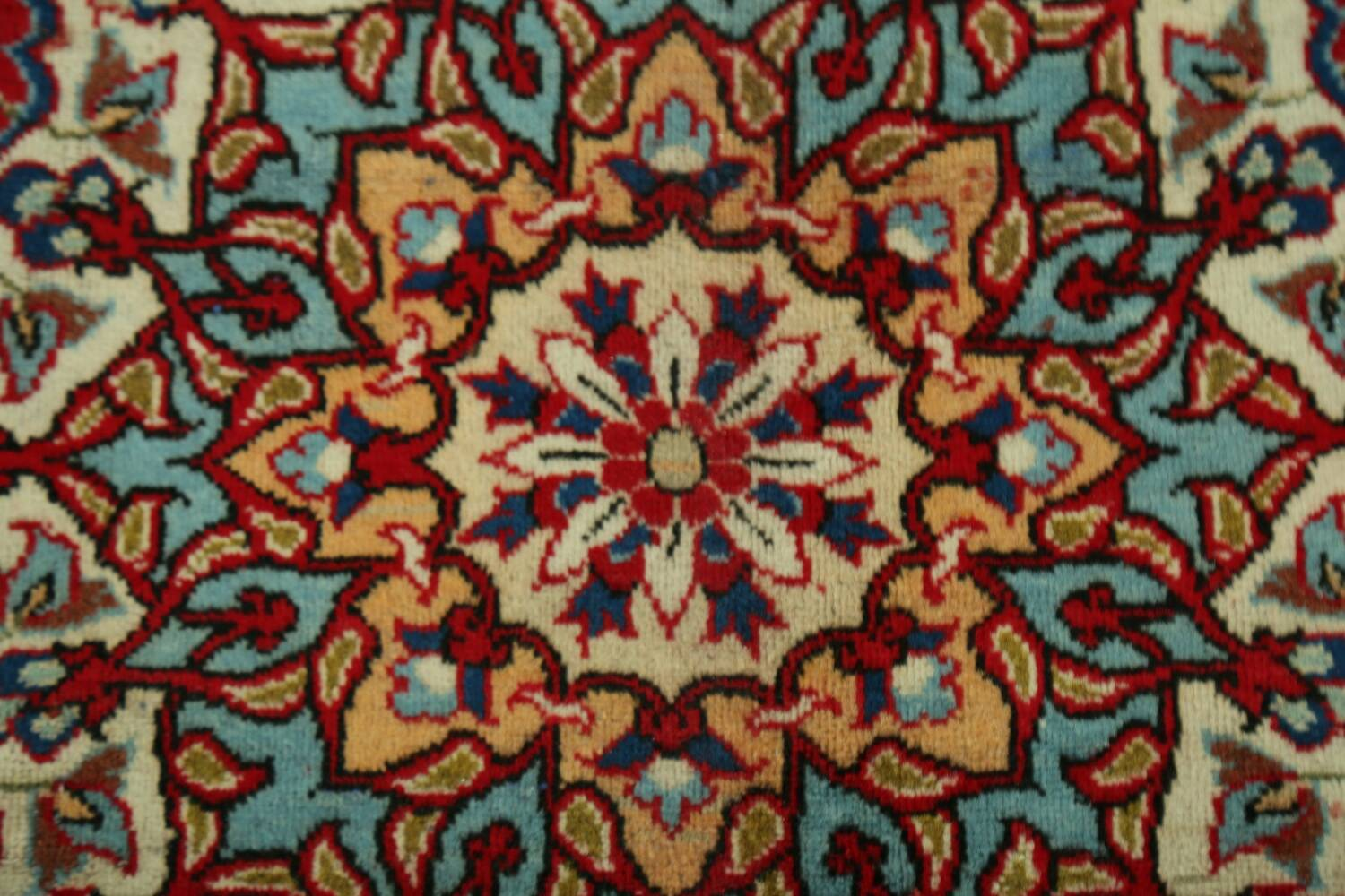 Vintage Floral Red Najafabad Persian Area Rug 8x12 image 10