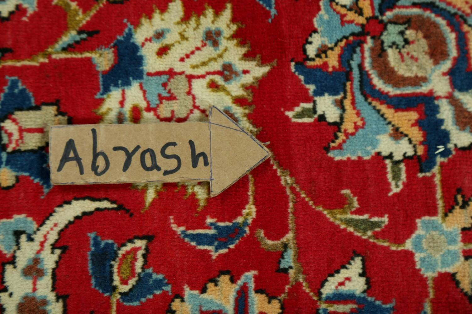 Vintage Floral Red Najafabad Persian Area Rug 8x12 image 12