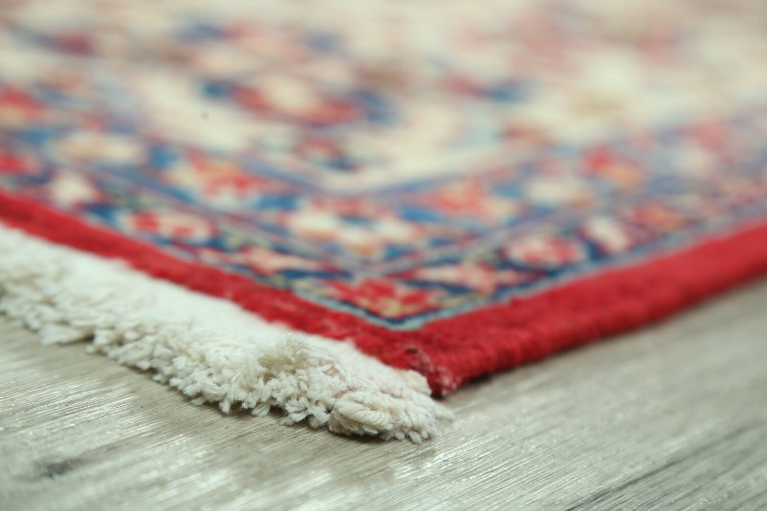 Vintage Floral Red Najafabad Persian Area Rug 8x12 image 6