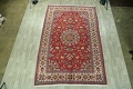 Vintage Floral Red Najafabad Persian Area Rug 8x12 image 2