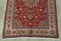 Vintage Floral Red Najafabad Persian Area Rug 8x12 image 8