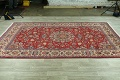 Vintage Floral Red Najafabad Persian Area Rug 8x12 image 13