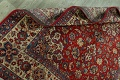Vintage Floral Red Najafabad Persian Area Rug 8x12 image 19