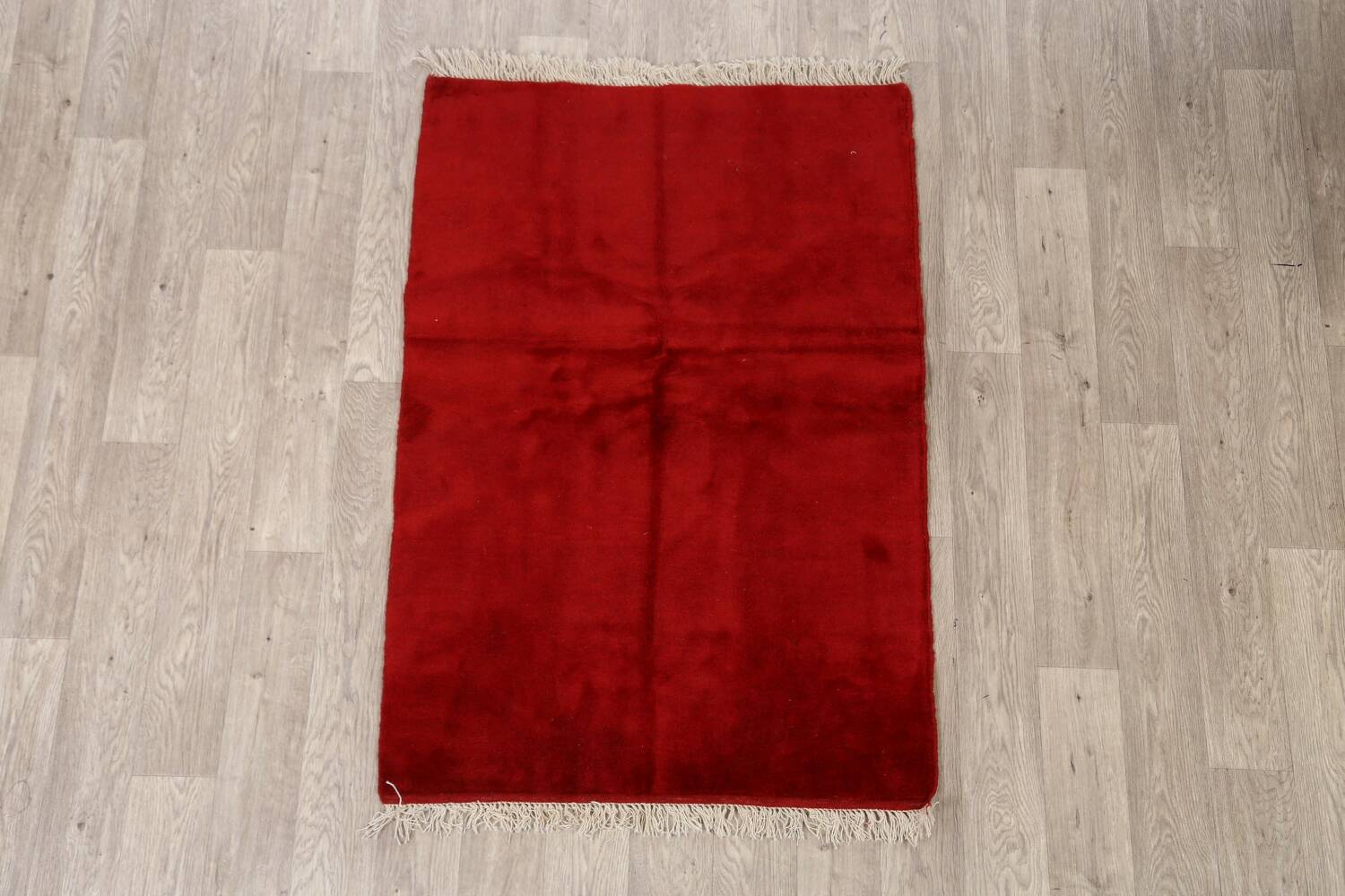 Modern Red Gabbeh Shiraz Persian Area Rug 3x5 image 2