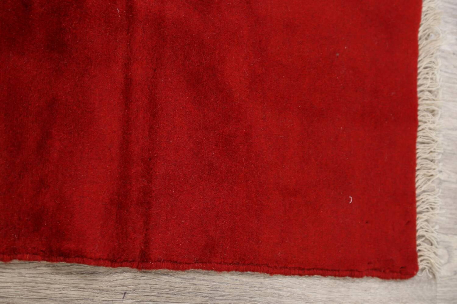 Modern Red Gabbeh Shiraz Persian Area Rug 3x5 image 9