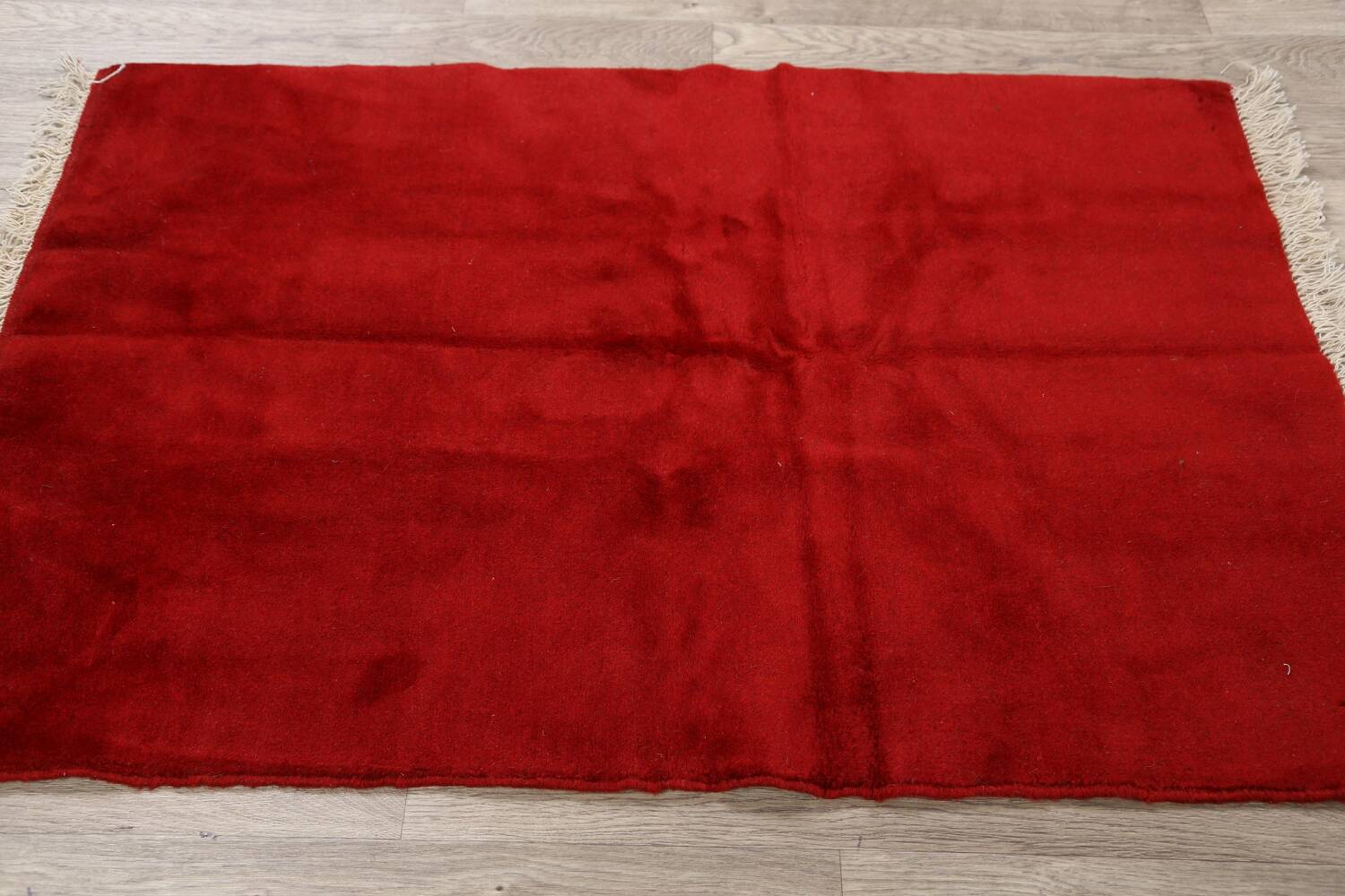 Modern Red Gabbeh Shiraz Persian Area Rug 3x5 image 10