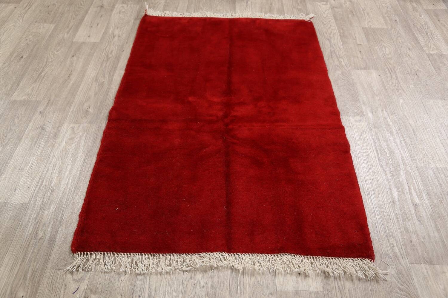 Modern Red Gabbeh Shiraz Persian Area Rug 3x5 image 11