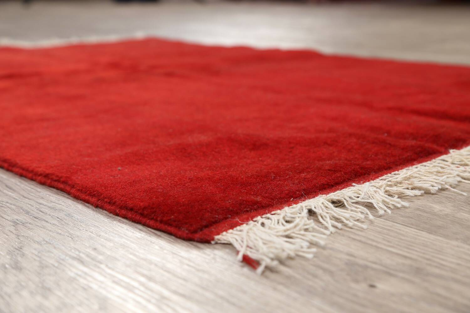 Modern Red Gabbeh Shiraz Persian Area Rug 3x5 image 6