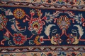 Vintage Floral Red Mashad Persian Area Rug 9x13 image 12