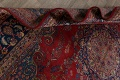 Vintage Floral Red Mashad Persian Area Rug 9x13 image 20