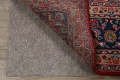 Vintage Floral Red Mashad Persian Area Rug 9x13 image 7