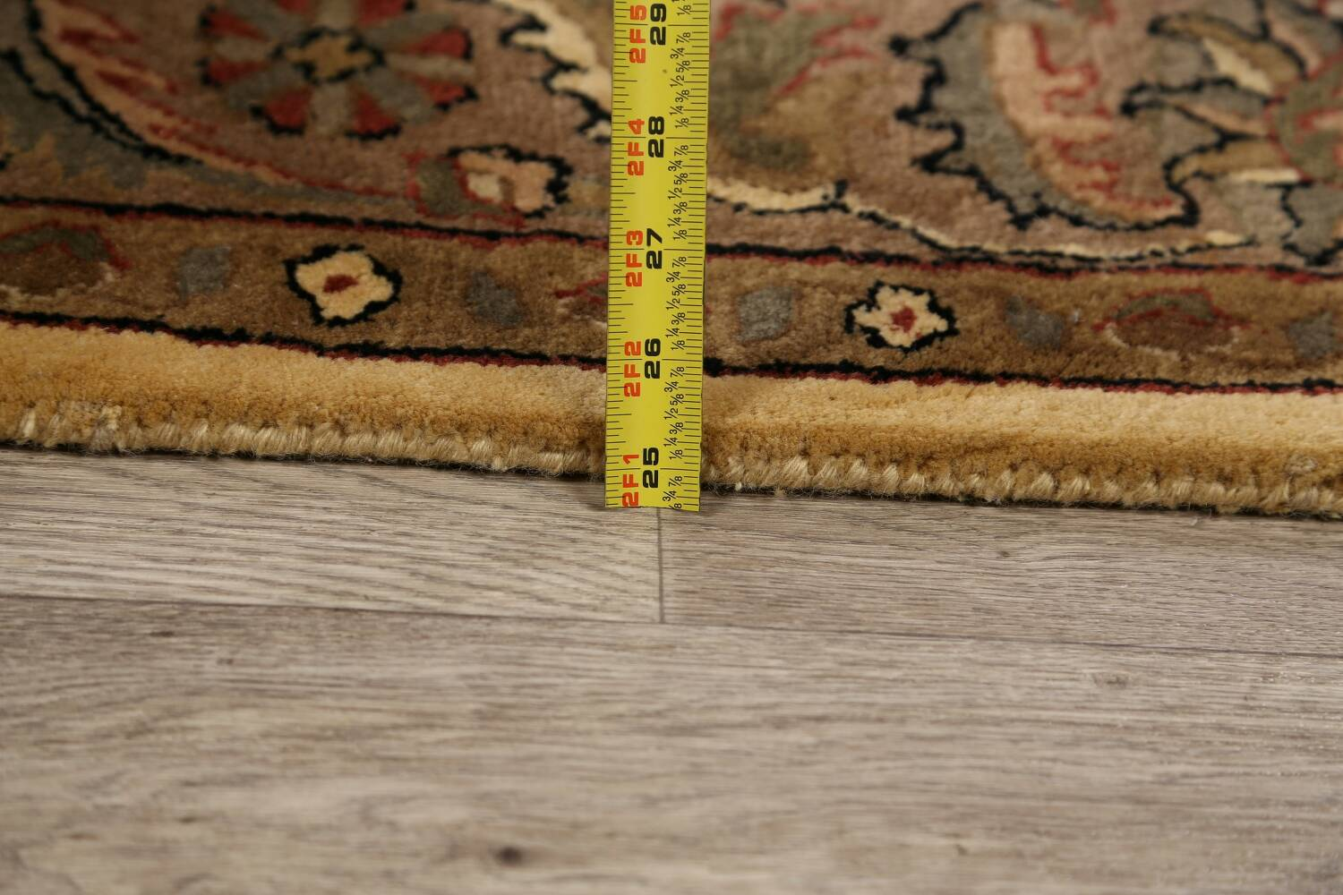 All-Over Floral Agra Oriental Area Rug 6x9 image 17