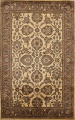 All-Over Floral Agra Oriental Area Rug 6x9 image 1