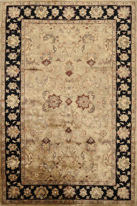 Floral Agra Indian Oriental Area Rug 5x8