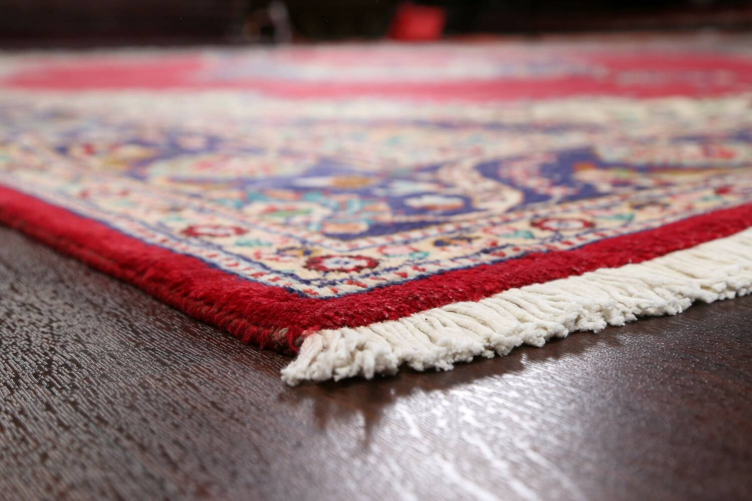 Floral Red Tabriz Persian Area Rug 10x13 image 6