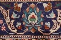 Floral Red Tabriz Persian Area Rug 10x13 image 9