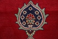 Floral Red Tabriz Persian Area Rug 10x13 image 11
