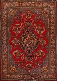 Floral Red Mahal Persian Area Rug 8x12