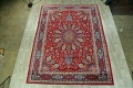 Floral Red Mashad Persian Area Rug 10x13 image 2