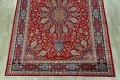 Floral Red Mashad Persian Area Rug 10x13 image 8