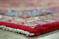 Floral Red Mashad Persian Area Rug 10x13 image 6