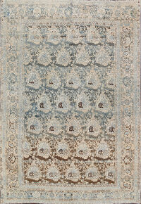 Antique All-Over Floral Bidjar Persian Area Rug 7x10
