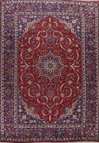 Floral Red Kashmar Persian Area Rug 9x13