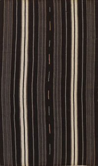Stripe Kilim Turkish Area Rug 6x11