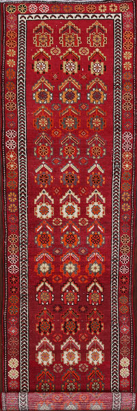 Anatolian Oushak Turkish Runner Rug 3x13