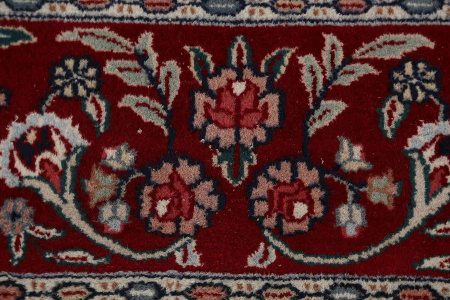 Floral Green Aubusson Oriental Area Rug 8x10 image 9