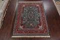 Floral Green Aubusson Oriental Area Rug 8x10 image 2