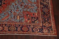 Pre-1900 Antique Vegetable Dye Heriz Serapi Persian Rug 12x14 image 5